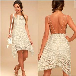 Free People Dresses - Free People Just Like Honey Ivory Dress